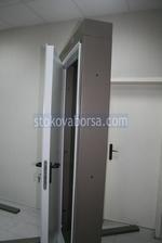 1140x2050mm una hoja incendio puerta
