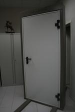 1000x2050mm Двери противопожарные металла
