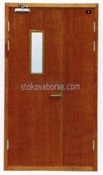 метална еднокрила огнеупорна врата