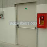 еднокрила огнеупорна врата по поръчка